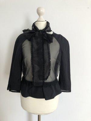 Schwarze Bluse von Elisabetta Franchi Neu