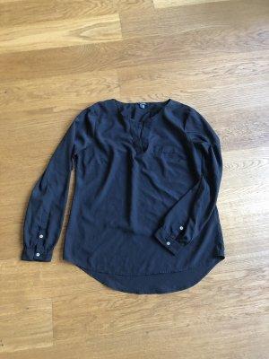 Schwarze Bluse von Esmara Größe 42