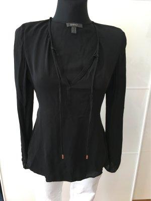 Schwarze Bluse von Esprit