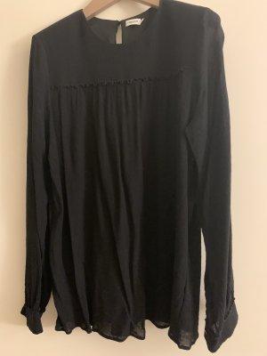 Schwarze Bluse von Filippa k aus viskose, Größe xlarge. Neuwertig!