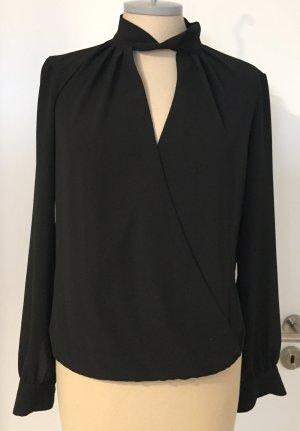 Schwarze Bluse von H&M Gr 34