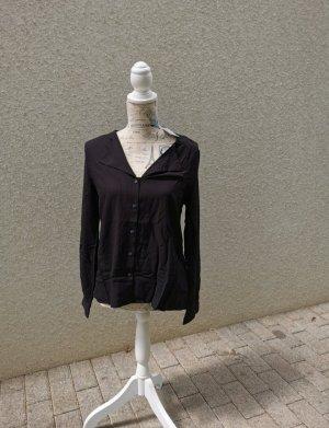 schwarze Bluse von Pieces