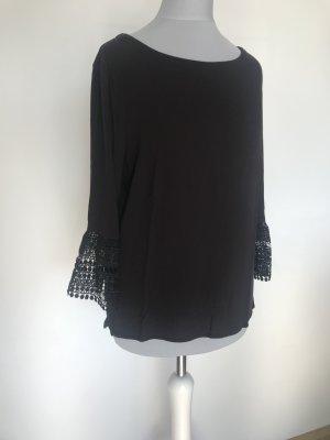 schwarze Bluse von s.Oliver