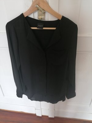 Schwarze Bluse von Selected