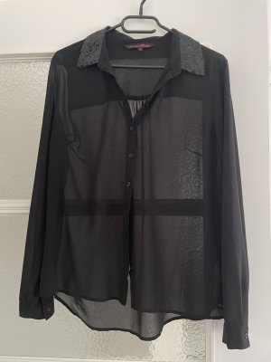 Schwarze Bluse von Tom Tailor