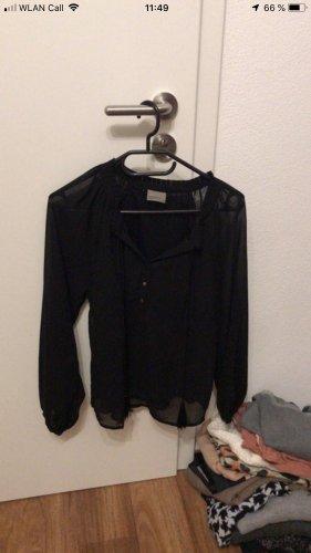 Schwarze Bluse von Vero Moda in Größe S.