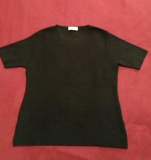 Schwarze Bluse Wolle