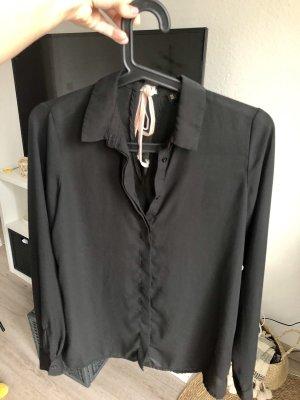 Schwarze Bluse, XS