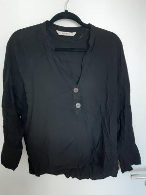 Schwarze Bluse Zara