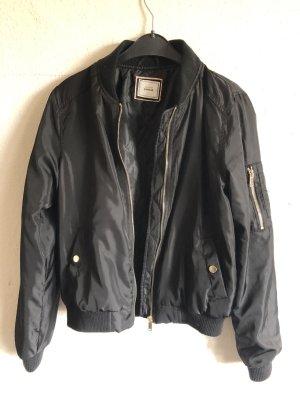 Pimkie Bomber Jacket black polyester