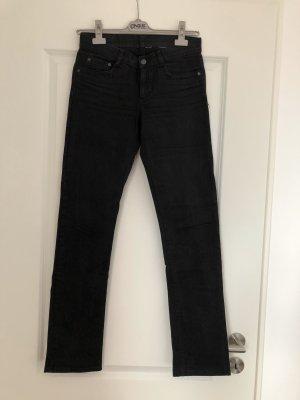 Schwarze Bootcut Jeans von H&M in Gr. 36