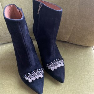 Renata Corsi Low boot noir daim