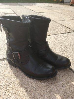 Schwarze Boots Gr. 37