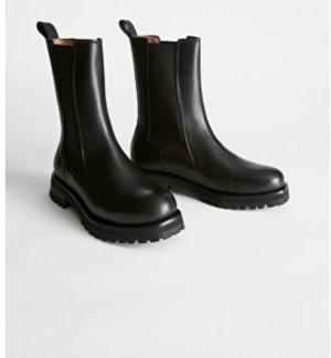 Schwarze Boots. Gr.38