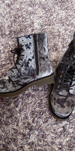 Apple of eden Heel Boots grey
