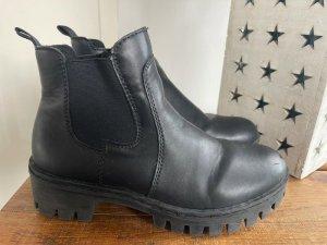 Rieker Chelsea Boot noir cuir