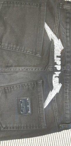 Philipp Plein Jeans boyfriend nero