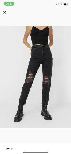 Bershka Boyfriend Jeans black
