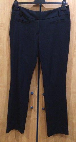 Schwarze, breit geschnittene Stoffhose, Clockhouse, Gr. 40