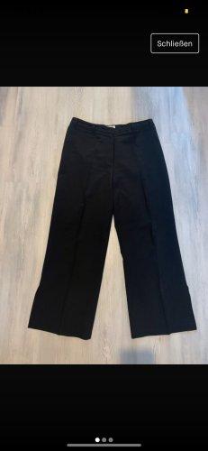 Schwarze Breite Hose