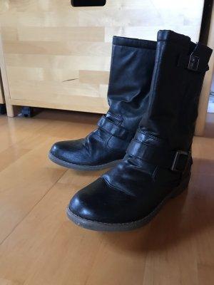 Schwarze Buffalo Stiefel
