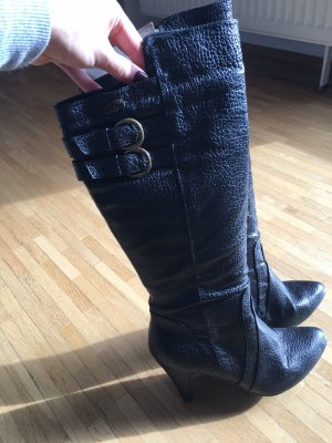 Buffalo girl Heel Boots black
