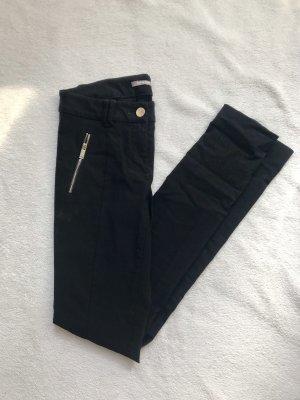 Orsay Drainpipe Trousers black-gold-colored