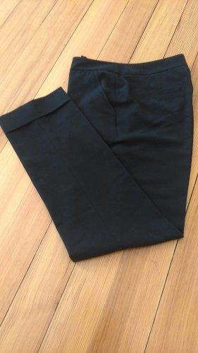Schwarze Bundfaltenhose NEU