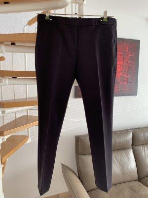Esprit Pantalone a pieghe nero Cotone