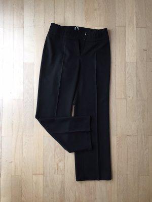 Schwarze Business Stoffhose Größe 38