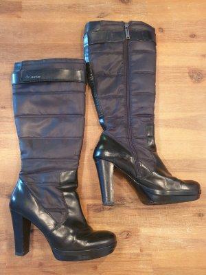 Schwarze Calvin Klein Stiefel Gr. 40
