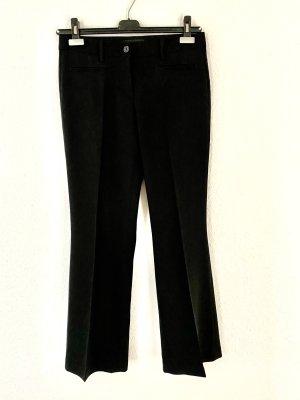 Schwarze Cambio-Hose mit Bügelfalte Größe 36