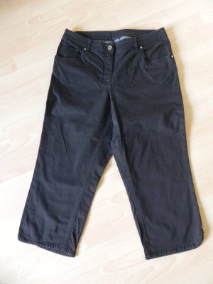 Breuninger Capris black mixture fibre