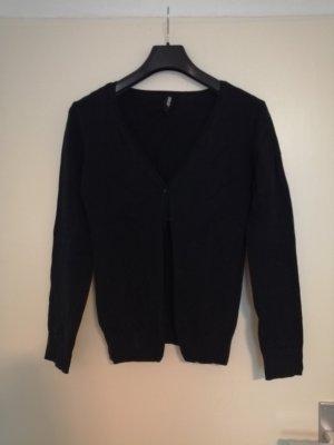 Schwarze Cardigan Basic