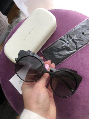 Schwarze Cat eye Sonnenbrille Marc Jacobs Neu