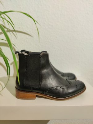 Cox Chelsea Boots black-brown