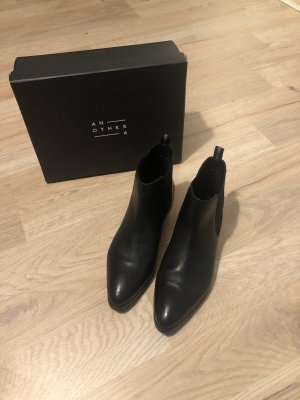 Another A Chelsea Boots black leather
