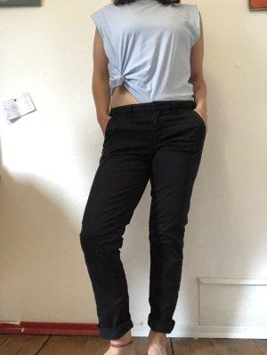 Armedangels Pantalon en jersey noir