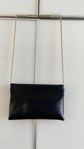 Comtesse Clutch black leather