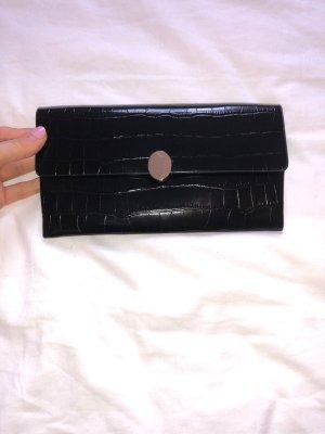 Schwarze Clutch / Handtasche von Mango