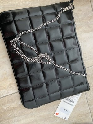 Schwarze Clutch Tasche