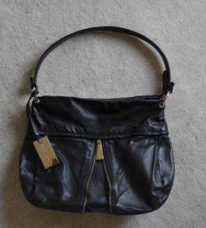 schwarze Coccinelle Handtasche