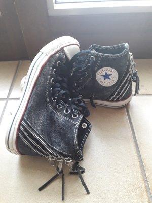 schwarze Converse Chucks tri zips