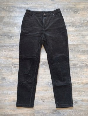 Monki Pantalón de pana negro