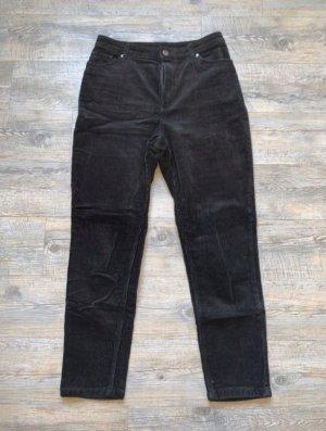 Monki Corduroy Trousers black