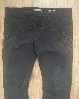 Marc O'Polo Corduroy Trousers black