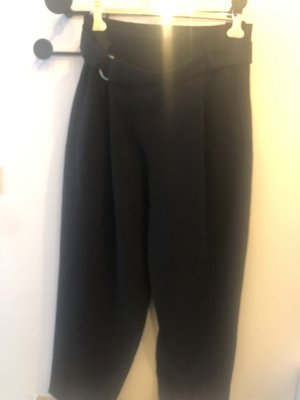 COS Spodnie materiałowe czarny Poliester