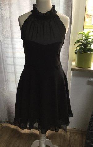 Schwarze Damen Kleid in Gr.S