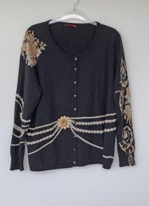 Luisa Cerano Smanicato lavorato a maglia multicolore Cotone