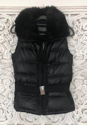 Zara Basic Gilet en duvet noir polyester